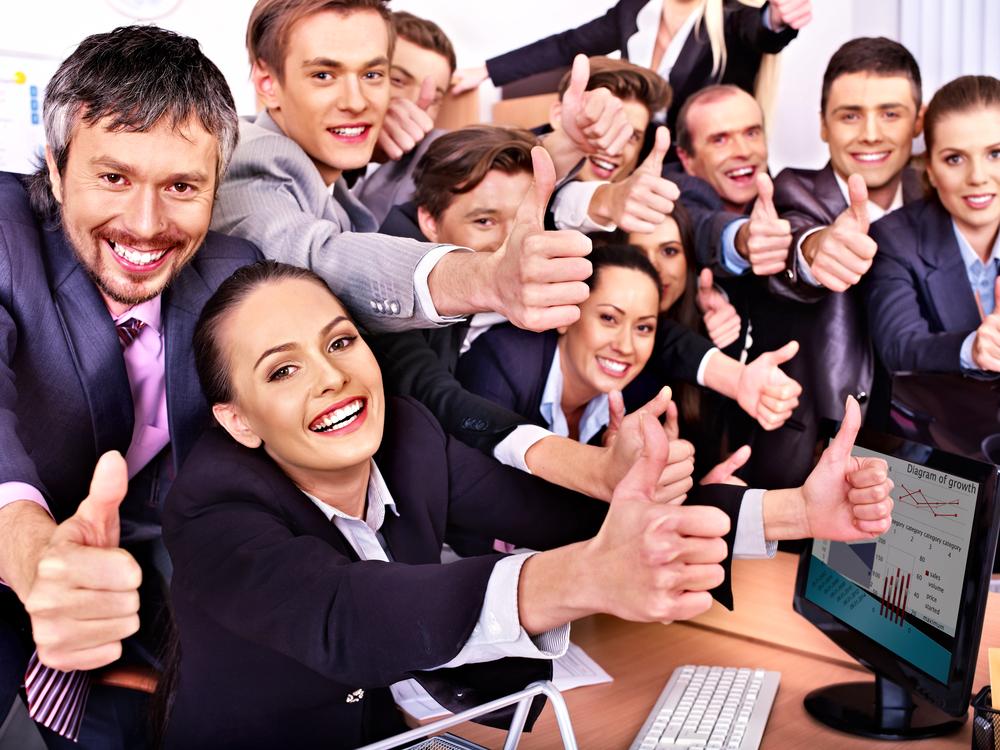 As amizades no local de trabalho