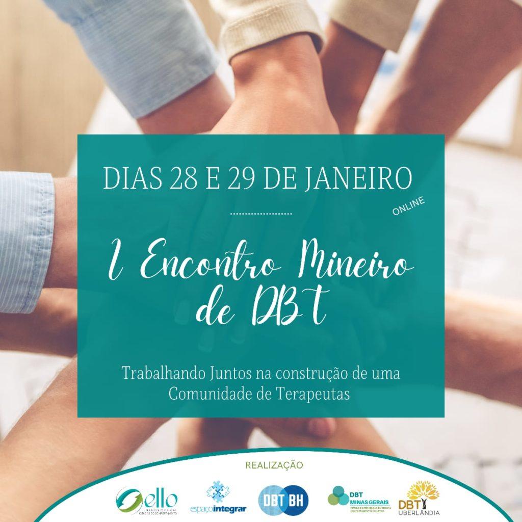 I Encontro Mineiro de Terapia Comportamental Dialética 1